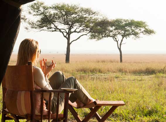 Serengeti-safari-camp-view